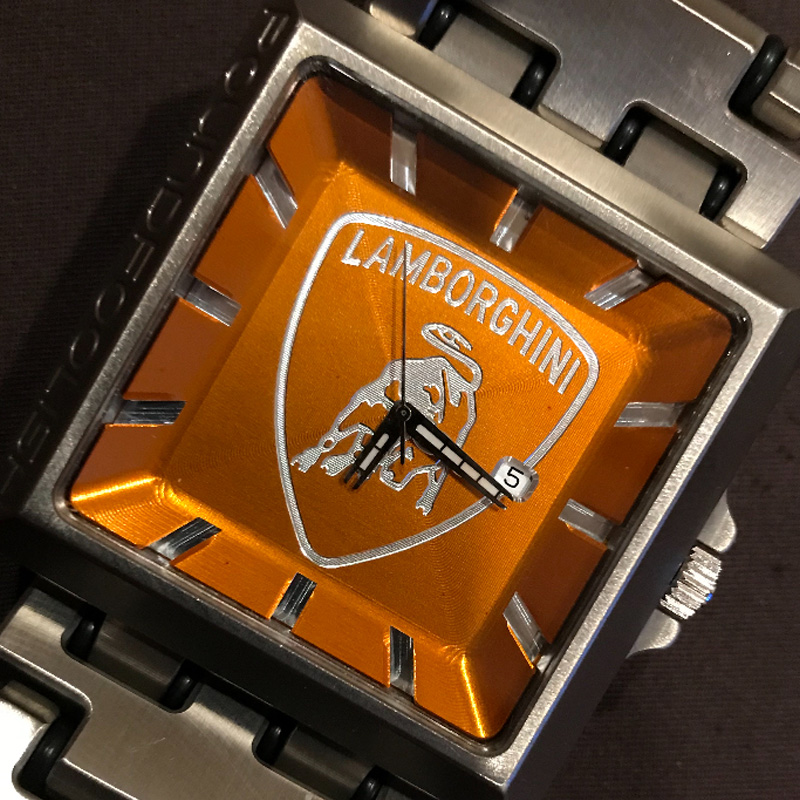 Lamborghini Custom Watch